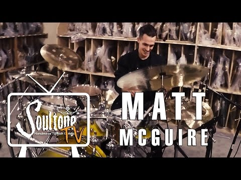 Matt McGuire (The Chainsmokers) visits Soultone Cymbals HQ