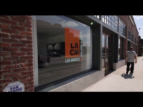 About LACM: Los Angeles College of Music