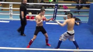 MMA-M-77,1 kg John Tedeschi, MMA Kemi vs. Saku Ronkainen, KBT Oulu
