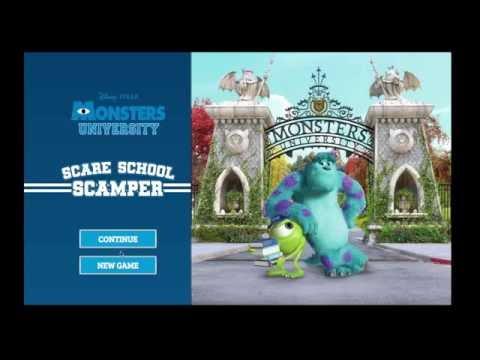 Disney Pixar Monsters Inc University Halloween Episode 3 Fun Baby Fun Fun