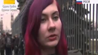 Смотреть видео Москва митинг 'нет войне' онлайн