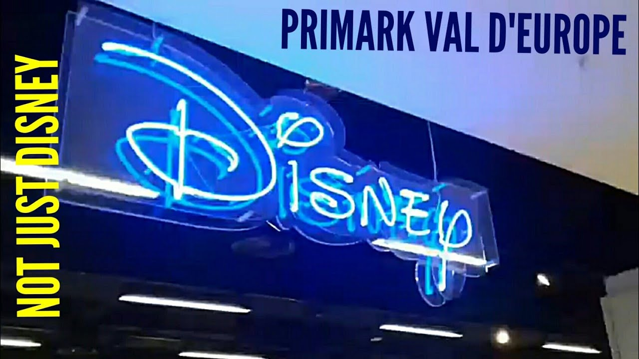 primark val d 39 europe disney merchandise youtube. Black Bedroom Furniture Sets. Home Design Ideas