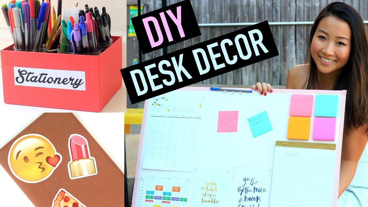 Popular DIY Organization Amp Desk Decor Ideas  YouTube