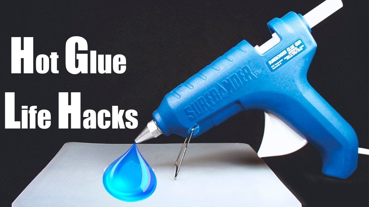 5 awesome hot glue gun life hacks youtube for Hot glue guns for crafts