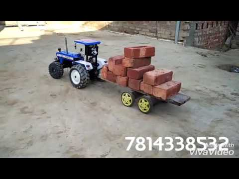 New holland toy tractor video