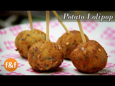 Potato Lollipop Recipe Easy evening tea snacks recipes / Veg Party starters appetizer dish ideas
