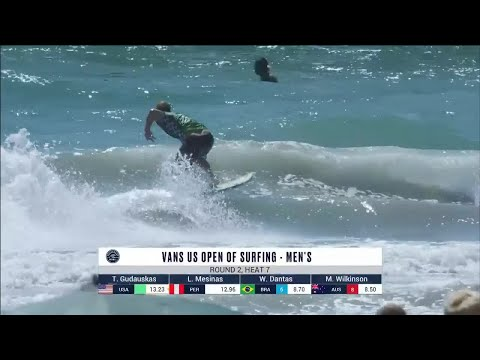 Vans US Open Of Surfing - Men's, Men's Qualifying Series - Round 2 Heat 7