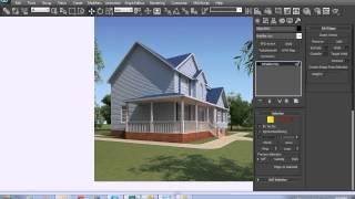 Hướng dẫn dựng nhà trên 3D Max