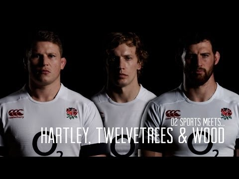 Hartley, Wood and Twelvetrees interview with O2 Sports