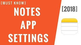 Gambar cover Important Notes App Settings! [Step-By-Step]