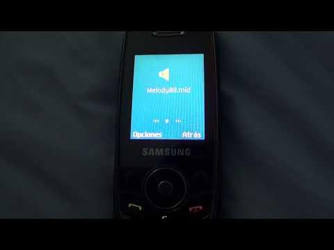 15 Samsung .mid ringtones on my Samsung J700i