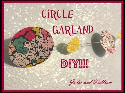 DIY Circle Garland
