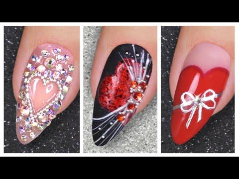 Nail Art Designs 2020 ❤️ Valentine's Day Nail Art Ideas