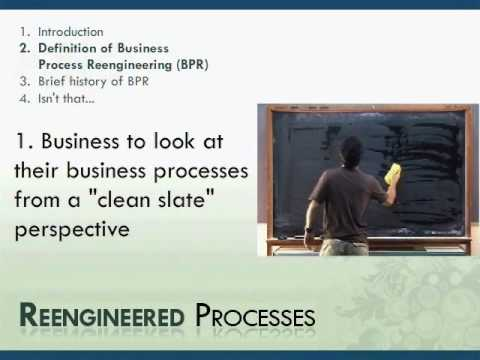 Business Process Reengineering - Definition