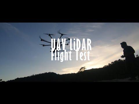 [HSG Survey & Mapping] UAV LiDAR Flight Test