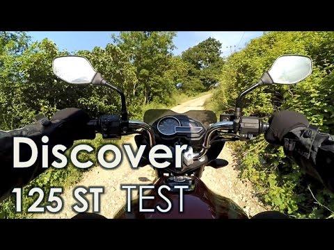 Bajaj Discover 125 ST Sürüş Test Videosu (Xiaomi Yi Action Camera)