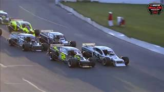 NASCAR Whelen Modified Tour 2019. Oswego Speedway. Full Race