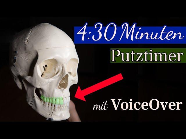 Putztimer mit VoiceOver | 4:30 Minuten | DoctorAmi