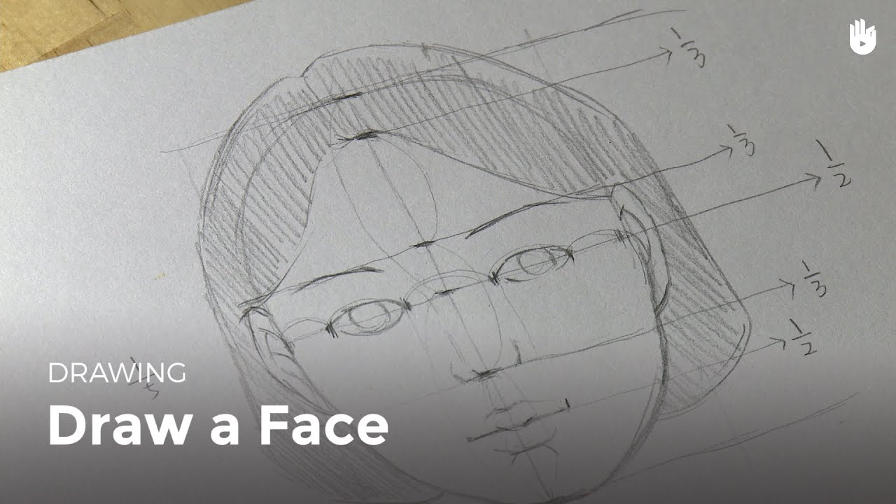 Draw a face - YouTube