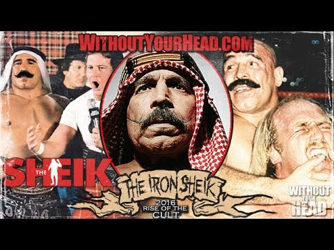 The Iron Sheik & producer Jian Magen of the documentary