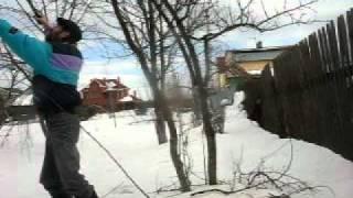 Обрезка деревьев.Зима.Весна(, 2011-03-17T18:35:25.000Z)