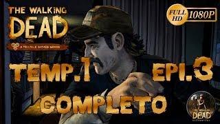 The Walking Dead El Videojuego Temporada 1 Episodio 3 |Un Largo Camino Por Delante| Completo Español