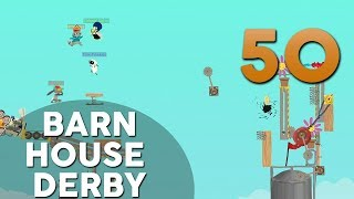 [50] Barn House Derby (Let's Play Ultimate Chicken Horse w/ GaLm and friends)
