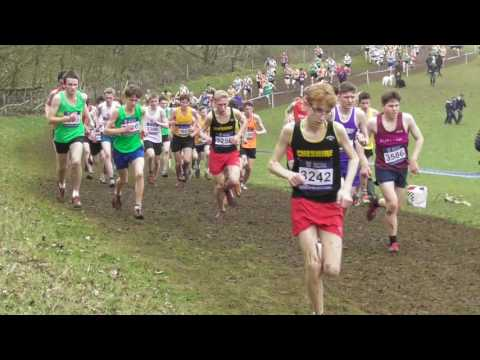 Under 17 Men UK Inter Counties National Cross Country Championships 11032017