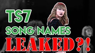 Taylor Swift LEAKED New Song Names?! | Taylor Swift Tuesday #42 Video