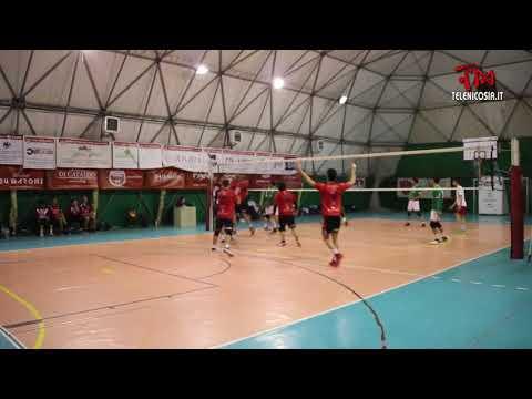 Pallavolo maschile serie C, Diavoli Rossi Nicosia-Usco Gravina 3-1