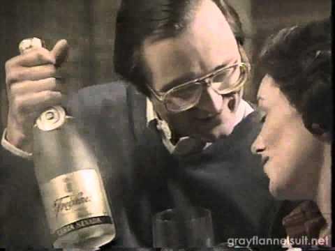 Carta Nevada sparkling wine TV commercial (1982)