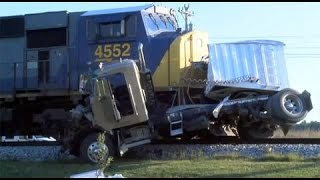 CRAZY Truck Crashes, Truck Accidents compilation 2014   Winter Edition