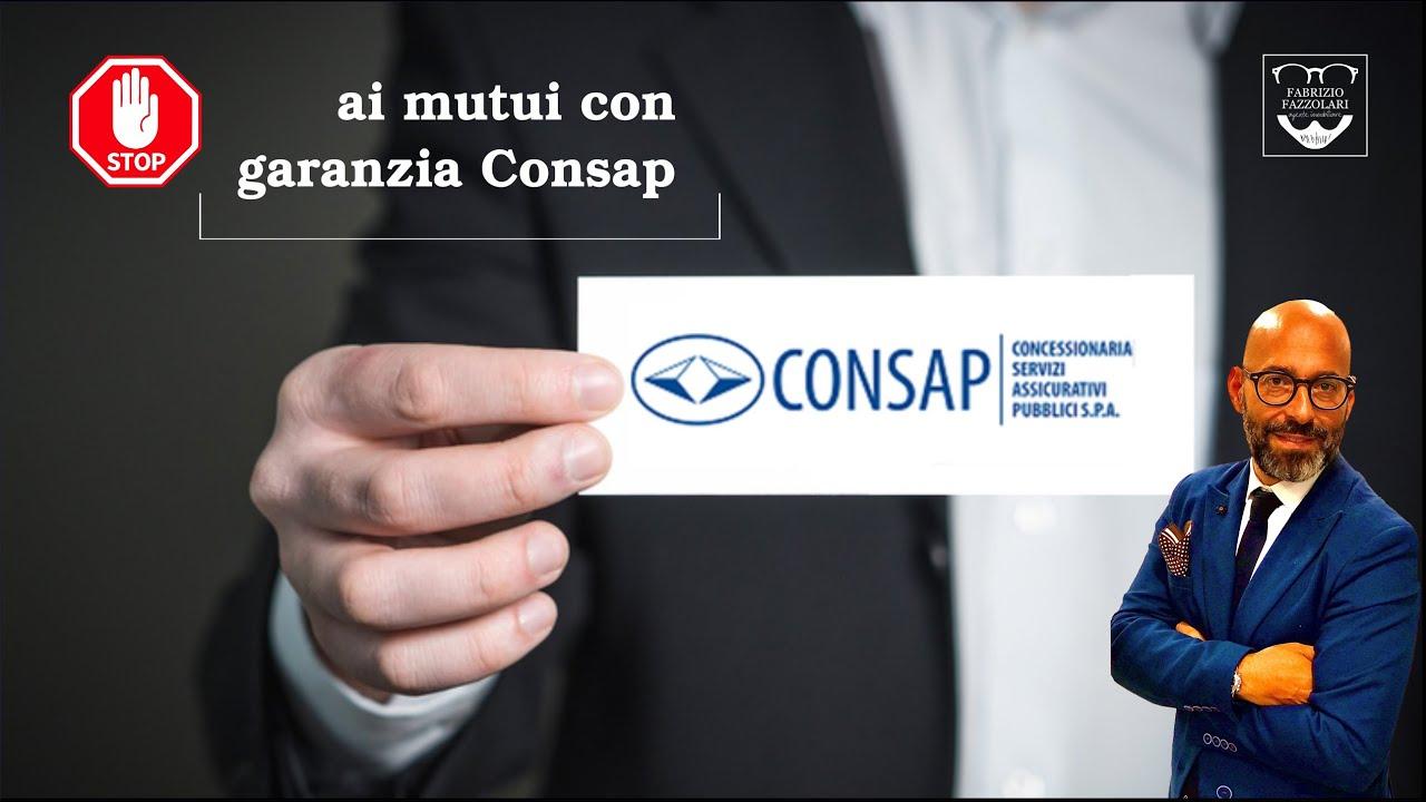 Stop ai mutui 100% con garanzia Consap