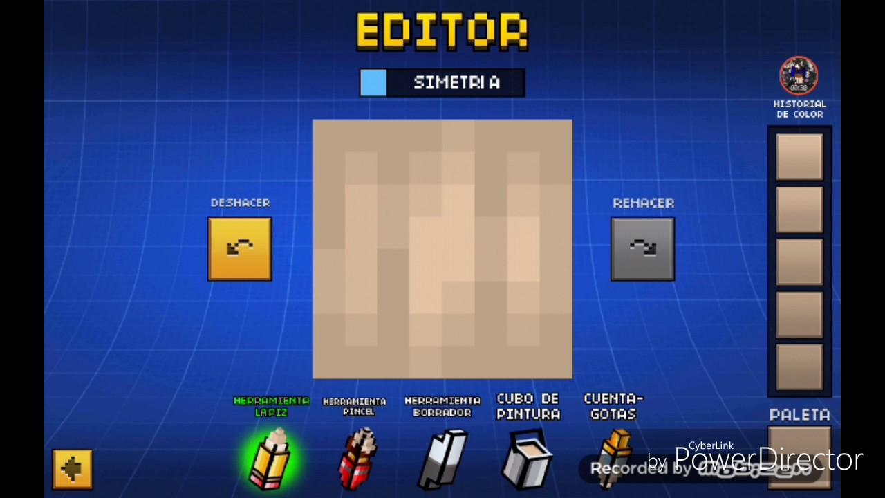 ��pixel gun 3d skin para chicas�� youtube