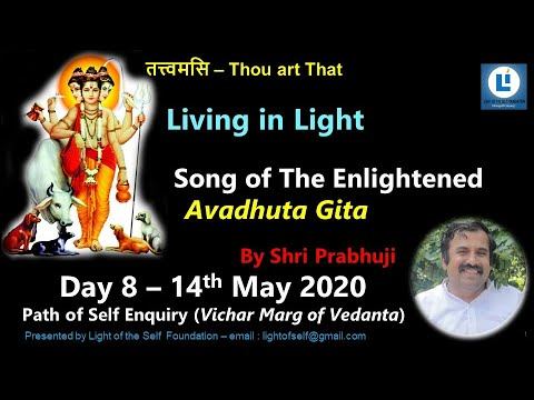 Download Living in Light Day 8#AvadhutaGita#selfenquiry#vicharamarg