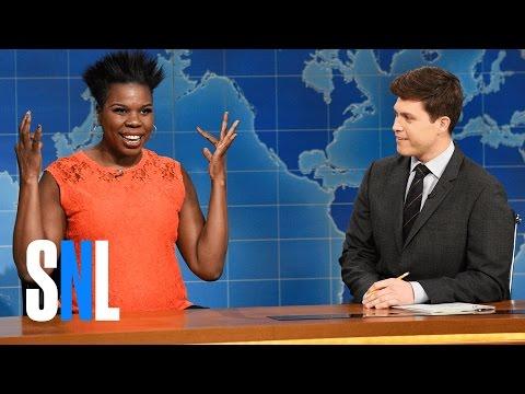 Weekend Update: Leslie Jones on Vacation - SNL