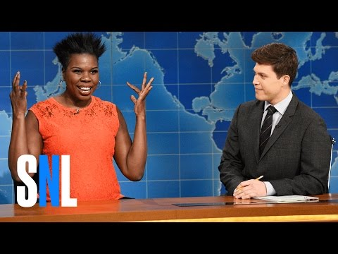 Weekend Update: Leslie Jones on Vacation - SNL