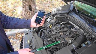 Диагностика зажигания с помощью смартфона