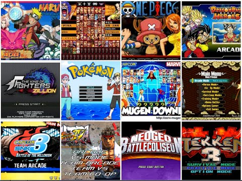 Where to download full MUGEN games for FREE!
