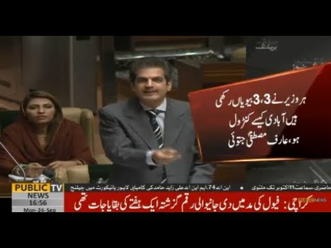 Chaos in Sindh Assembly over population control issue | Public News