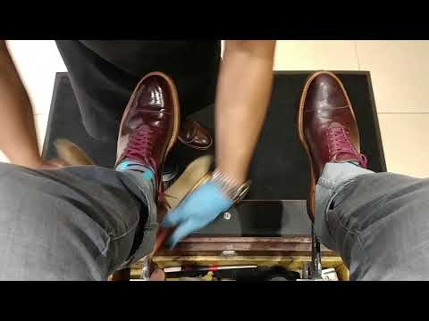 The Best Shoeshine in Dallas - Merriweather & Co