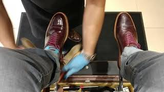 The Best Shoeshine in Dallas - Merriweather & Co