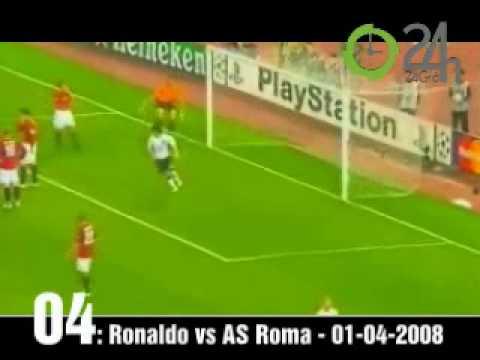 5 bàn th ng d p nh t c a Ronaldo trong màu áo Manchester United nam 2008   5 b224n th7855ng 2737865p nh7845t c7911a Ronaldo trong m224u 225o Manchester United n259m 2008
