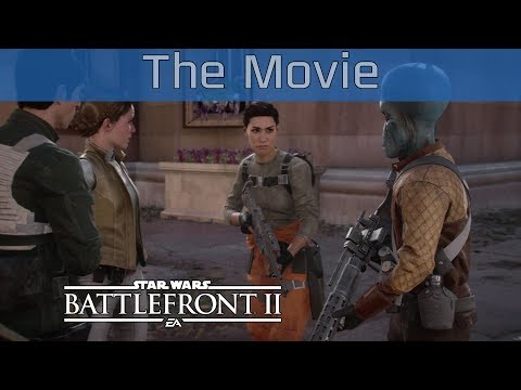 Star Wars Battlefront II - All Cutscenes Gameplay The Movie [HD 1080P/60FPS]