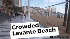 Benidorm Levante 8 June 2020 - Lockdown phase 2