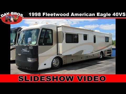 1998 American Coach American Eagle 40evs Wide Body Fleetwood Rv Coach Slideshow Video Youtube