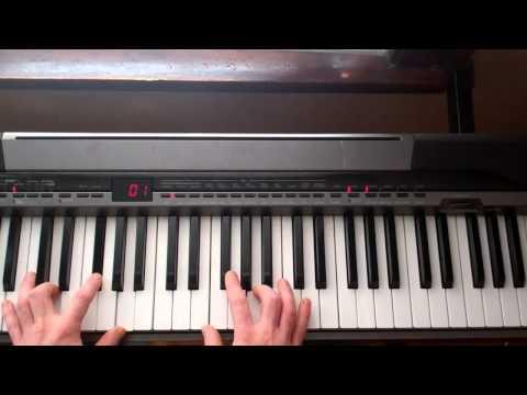 The Allman Brothers - Jessica Piano Solo Tutorial - Part 1