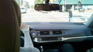 Test drive of the new Lexus CT 200h....  Wow!