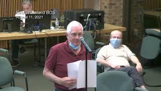 August 11, 2021 East Whiteland Township Board of Supervisors