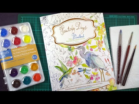 colouring-book-review:-painterly-days-plus-tips-on-how-to-use-watercolours.